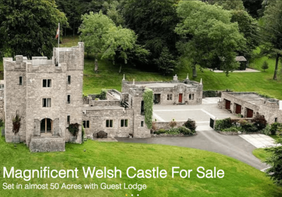 Welsh Castle For Sale
