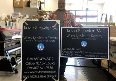 Yard Signs From Wendy Morris Realty