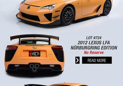 Lexus LFA Coming to Palm Beach