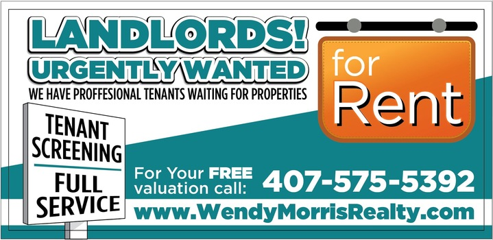 Landlords Wanted For 2018