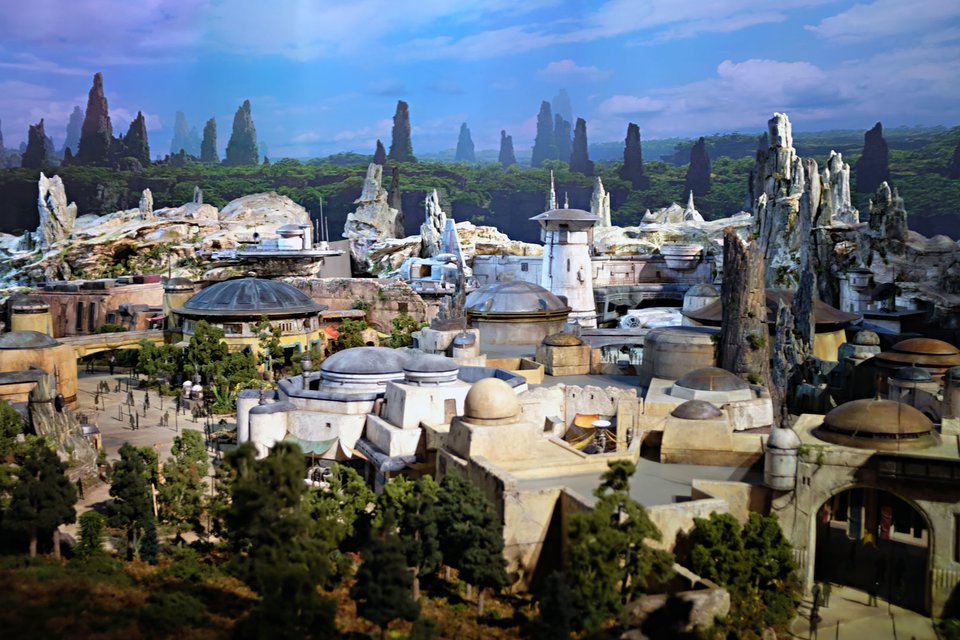 Star Wars at Disney Named Galaxys Edge